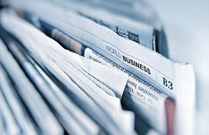 printed newspapers