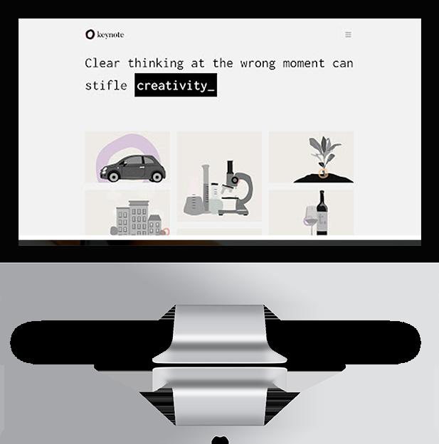 In Development - Keynote